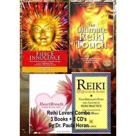 Reiki Lovers Combo Pack (3 Books+ 3 Audio CD s) Dr. Paula Horan