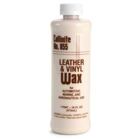 COLLINITE LEATHER AND VINYL WAX 855 16 OZ., 0
