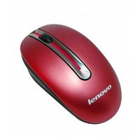 Lenovo N3903A Wireless Optical Mouse,  red