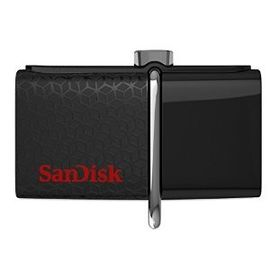 SanDisk Ultra 16GB USB 3.0 OTG Flash Drive with micro USB connector For Android Mobile Devices- SDDD2-016G-G46