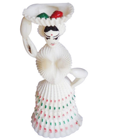 OHH010: Handicrafted standing lady doll