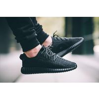 Yeezy Boost 350 Pirate Black Shoes, 7