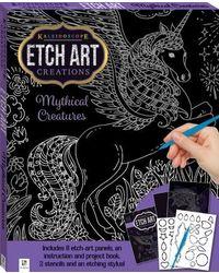 Mini Etch Art Kit: Mythical Creatures