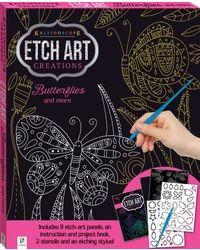 Mini Etch Art Kit: Butterflies