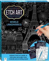 Kaleidoscope Creations Etch Art World Landmarks, na