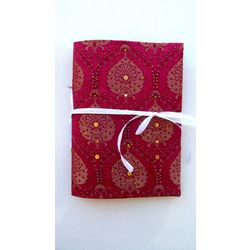 NOTEBOOK - MESMERIZING MAROON by THE NEWLIFE SHOP