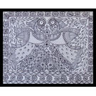 MADHUBANI PAINTING 106 by THE NEWLIFE SHOP