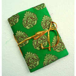 NOTEBOOK - ETHNIC GREEN by THE NEWLIFE SHOP
