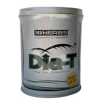 Pack of 2 -18Herbs Dia T 50+ 50 Tea Bags Tea for Diabetes - Very effective in controlling obesity