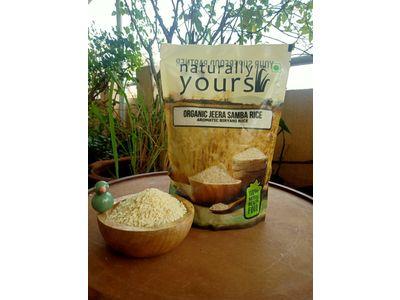 Organic Jeera Samba Rice 500g