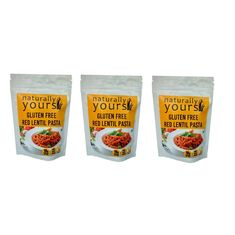 Gluten-Free Red Lentil Pasta 200g (Pack of 3)