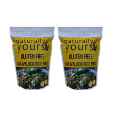 Gluten free Chia & Black Rice Pasta 200g (Pack of 2)