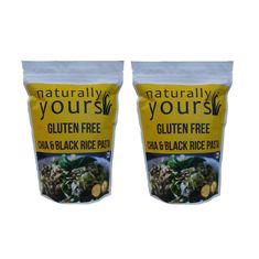 Gluten free Chia & Black Rice Pasta 200g (Pack of 2)