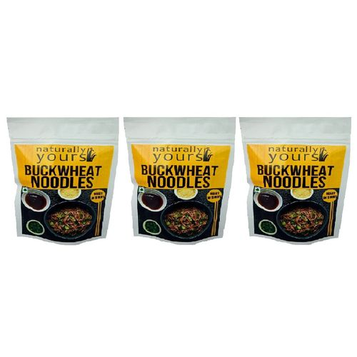 Naturally Yours Buckwheat Noodles 180G (Pack of 3)
