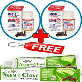 IME-9+ FREE NEEM CLOVE TOOTHPASTE