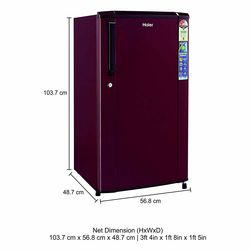 Haier HRD1703SRE 170 Litre Direct cool