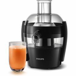 Philips HR1832/00 Full Apple Juicer with powerful 500 watts motor & Quick Clean Technology