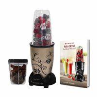 Wonderchef 400 Watt Nutri-Blend Juicer Mixer Grinder (Champagne) With Recipe Booklet