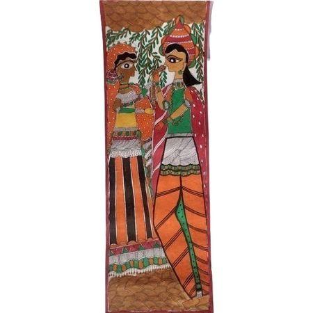 OSM002- Madhubani Mithilla painting