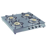 Sunshine Alfa MS Four Burner Toughened Glass Gas Stove, png, manual