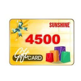 Sunshine Gift Coupon Online