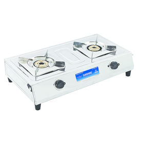 Sunshine MS-2 Double Burner Stainless Steel Gas Stove