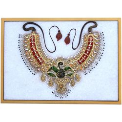 Craftsgallery Jewellry Paintings on Marble Tile