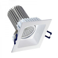 Luminac COB LED Recessed Downlighter - LFLL 288A, 6000k / 600lm
