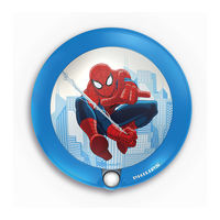 Philips Marvel Sensor Night Light - Spiderman - 71765