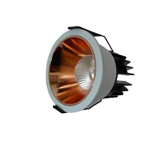 Aura Delta 10 Watt Grey And Copper, 6000k