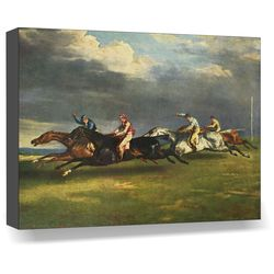 Horse Race, 14 x 18 inches