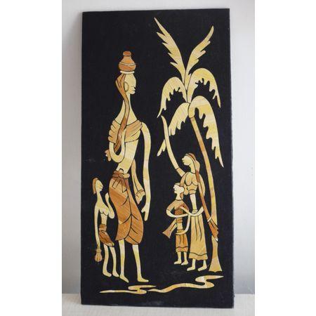OHS012: Straw art of tribal design online