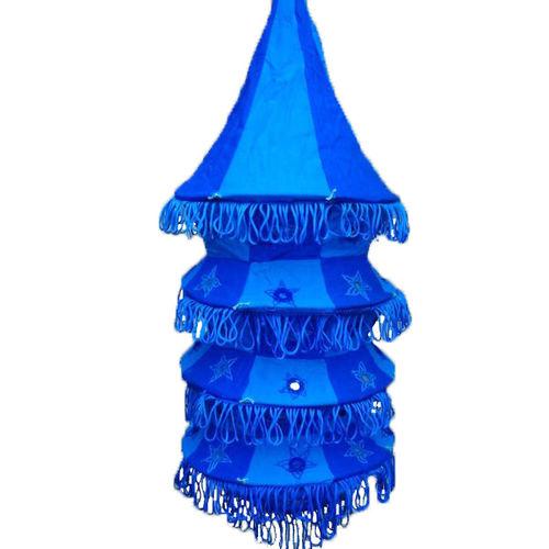 OHA001: Applique Lamp Shade made in Pipili Odisha, India