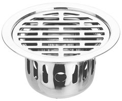 Jwell Round Steel Shower floor drain / Cockroach Trap (JDA-902-WL)