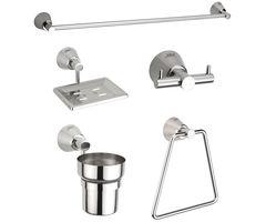Jwell Bathroom Set / Bath Set - Silk Series (SI BS)