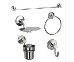 Unique Bath Set - Jwell Stainless Steel (Sigma Series)