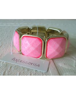Beautiful Pink Elasticated Bracelet