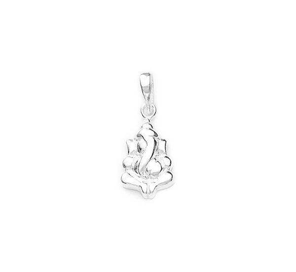 8693f619a Ganesha Sterling Silver Pendant | Silver Pendants Online-ManglamJewellers -  Buy 925 Sterling Silver & Diamond Jewellery Online