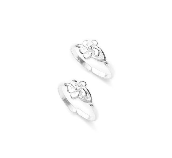 93cee76d2 Alt Attractive Flower Design Silver Toe Ring Tr244 Le Attractive Flower  Design Silver Toe Ring Tr244. Attractive Flower Design Silver Toe Ring  Silver Toe ...