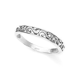 Cute Cutwork Band Finger Ring-FRL037, 14
