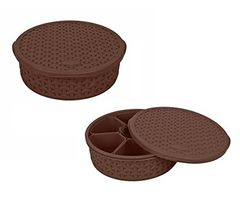 Jaypee Plus Spice Souk - Masala Container - Brown pack of 2