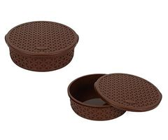 Jaypee Plus Stock All Food Storage - Brown pack of -2