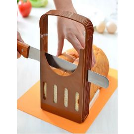 Bread slicer Foldable Bread Loaf Toast Slicer Cutter Slicing Kitchen Tool