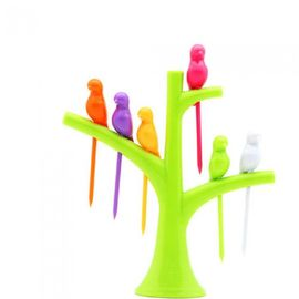 Bird Fruit fork Birdie Fruit fork with stand kids special fruit fork gift