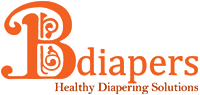 Bdiapers Cloth Covers with Organic Disposable Nappy Pads