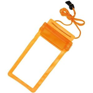 Mobile Waterproof Pouch For All Mobiles (Orange)
