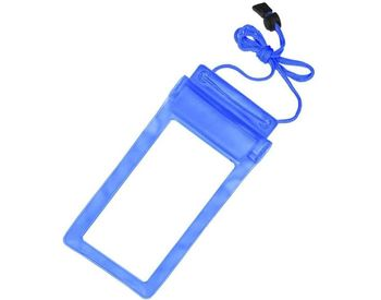 Mobile Waterproof Pouch For All Mobiles (Blue)
