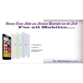 Clear Quality mobile screen Guard for All Mobile Apple Micromaxx Max Karbonn Nokia Lumia sony Blackberry HTC LG Nexus Xiaomi