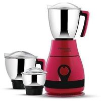 Butterfly Pebble 3 Jar 600w Mixer Grinder,  pink