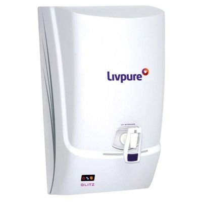 Livpure Glitz Plus RO Water Purifier,  white